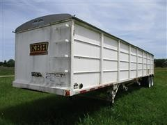 2008 KBH Hopper Bottom T/A Grain Trailer
