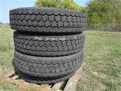 BF Goodrich DR444 Traction Tread Radial 11R24.5 Truck Tires