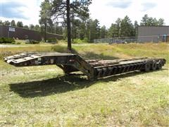 1977 (Unspecified) Military 50 Ton Tri/A Lowboy Trailer