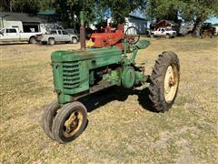 John Deere H 2WD Tractor