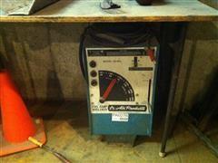 Air Products Arc Welder, Helmets & Welding Bench