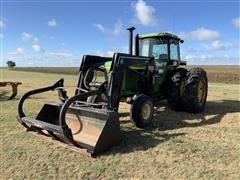 1973 John Deere 4630 2WD Tractor w/ Farmhand 1140 Loader
