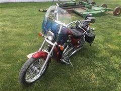 2001 Suzuki VS 800 GL Intruder Motorcycle