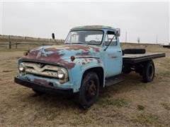 1955 Ford F500 Flatbed Truck