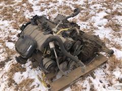 1999 GM 454 Vortec Engine & Transmission