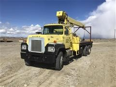 1979 Mack RS685LST Value Liner T/A Boom Truck