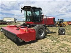 2012 Massey Ferguson Hesston WR9770 Self Propelled Windrower