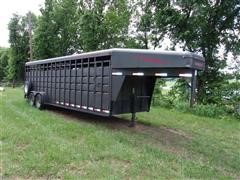 2005 Travalong T/A Livestock Trailer