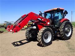 2012 Case IH Maxxum 140 MFWD Tractor W/L765 Loader