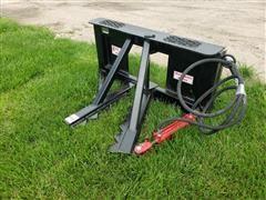 2019 Industrias America Tree/Post Puller Skid Steer Attachment