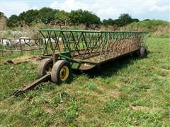 Stolzfus Well Built 24' Hay Feeder Wagon