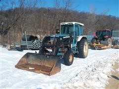 1992 Ford 7710 2WD Tractor W/Loader