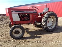 1977 International 184 Lo-Boy Compact Utility Tractor