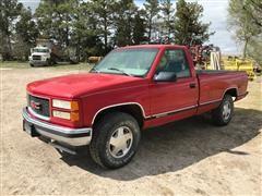 1998 GMC 1500 SLE Sierra 4X4 Pickup