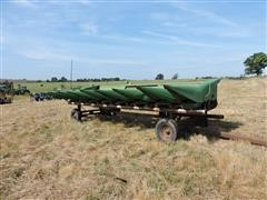 John Deere 843 High 10 Corn Header W/Trailer