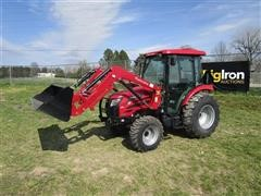 2016 Mahindra 25554CHIL MFWA Compact Utility Tractor W/Loader