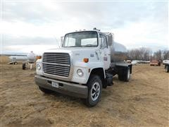1984 Ford LN8000 Cab & Chassis W/Stainless Steel Tank