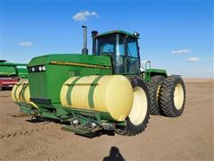 1995 John Deere 8770 4WD Tractor W/ Saddle Tanks