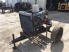 Ford 300 Industrial Power Unit On Cart