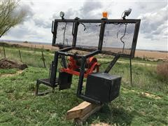 Tulsa Winch With Frame