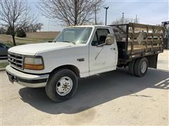 1994 Ford F350XL 2WD Stakeside Flatbed Pickup