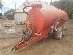Calumet 1500VAC Liquid Manure Vac Pump/Tanker