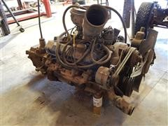 1978 Ford 475-V8 Complete Engine With 5 Speed Transmission