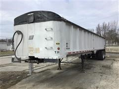 1999 East 39 FT Frameless T/A Aluminum End Dump Trailer