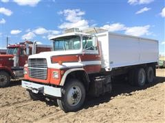 1979 Ford LN9000 T/A Grain Truck W/Dump Box