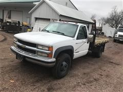 2000 Chevrolet K3500 Flatbed Pickup