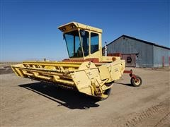 1991 New Holland 1118 Self Propelled Windrower