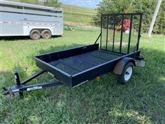 2016 Doolittle S/A Flatbed Trailer