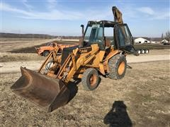 1983 Case 580D 2WD Loader Backhoe