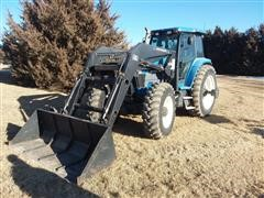 1994 Ford 8870 MFWD Tractor W/Loader