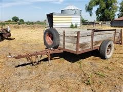 1990 Homemade Utility Trailer