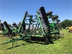 John Deere 724 Pull Type Mulch Finisher