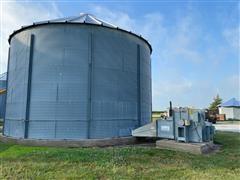 9,000 Bushel Grain Bin