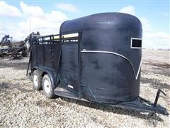 Homemade 5x14 T/A Livestock Trailer