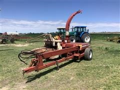 Hesston 7165 Pull Type Forage Harvester