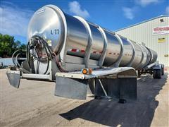 2010 Polar SDX9 Stainless Steel T/A Tanker Trailer