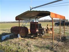 Case IH P110 Power Unit W/Generator, Fuel Tank & Canopy