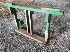 Simonsen Iron Works Inc 3-Pt Hitch Header Carrier