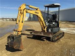 Kobelco SK027SR-3 Excavator W/Blade & Bucket