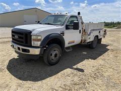 2008 Ford F550XL 2WD Service Truck