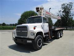 1988 Ford L8000 16 Ton T/A Boom Truck