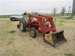 1954 Ford NAA 2WD Tractor W/Loader & Blade