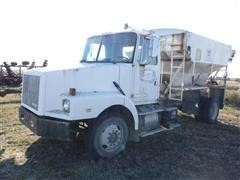 1995 White GMC S/A Truck W/Fertilizer Tender Box