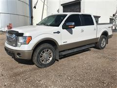2012 Ford F150 King Ranch 4x4 EcoBoost Pickup