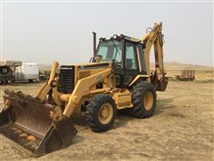 Caterpillar 446B 4x4 Loader Backhoe W/Extendahoe
