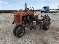 Farmall B 2WD Tractor With Cultivator